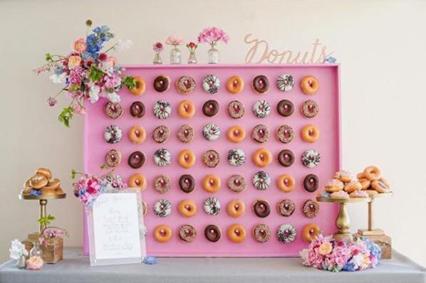 種類が多すぎるドーナツ